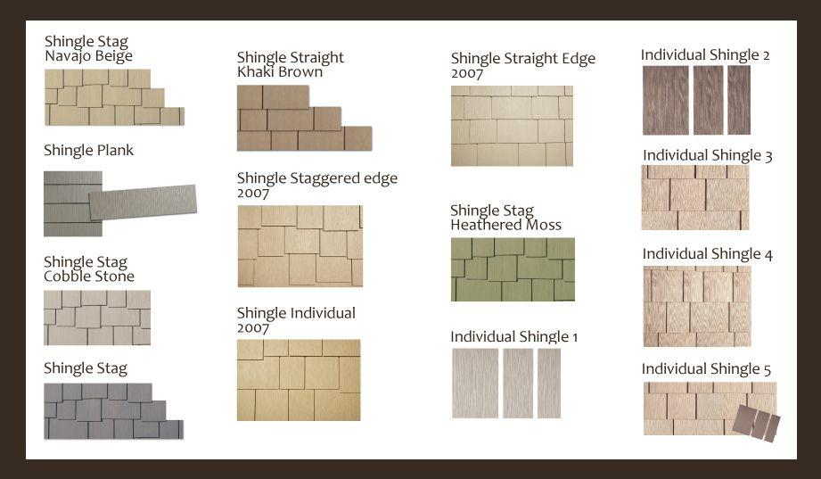 Hardie Shingle Selections Pinnacle Building Materials Ltd Shingle Colors Hardie Plank Colors Hardie Shingle