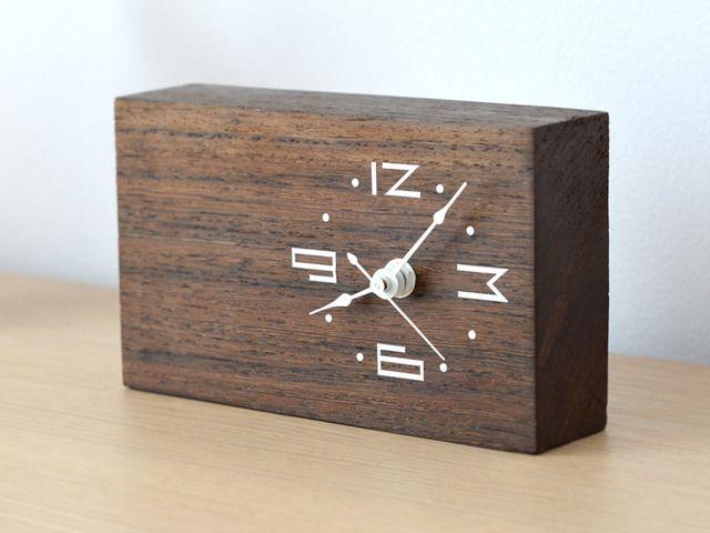 Woodtime Simple Modern Minimal Bare Wood Clocks By Tomasz Wojnar Now