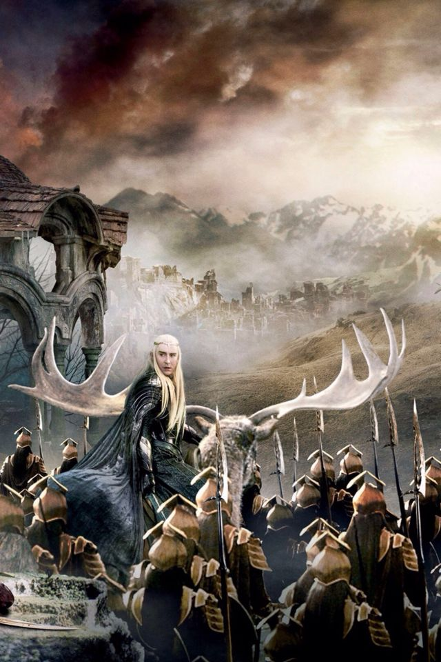 Thranduil, Hobbit: a battle of five armies | Army poster