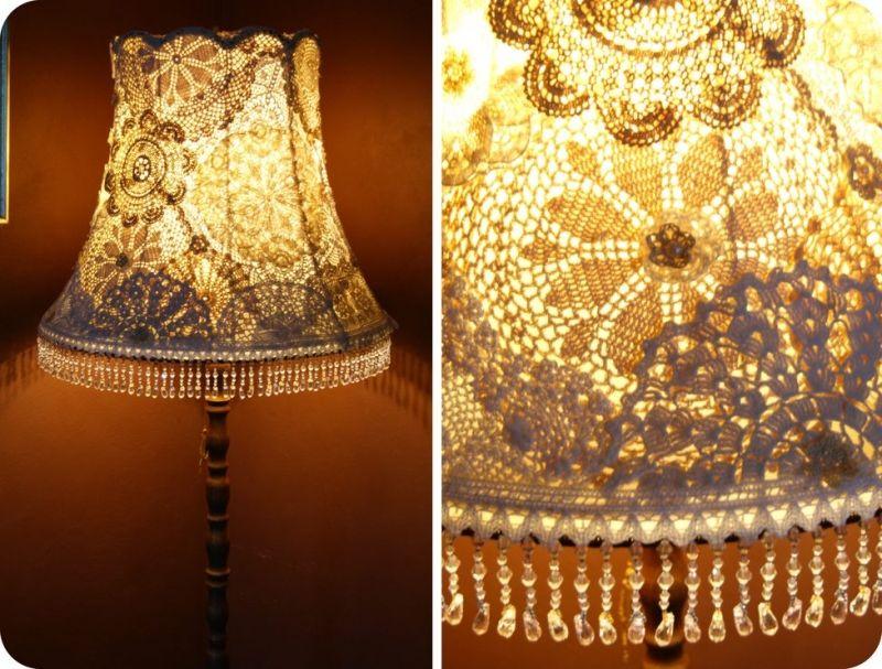 diy stehlampe schirm Lampen