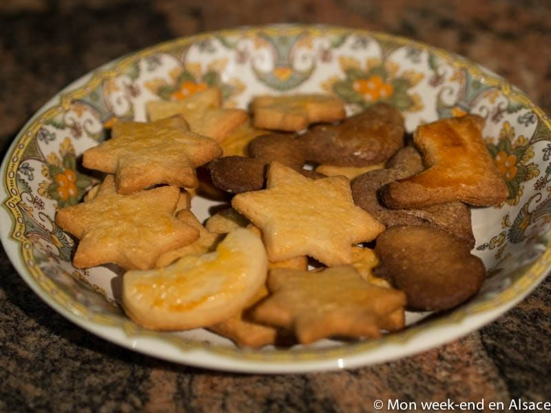 8 recipes of Christmas Bredele (small Alsatian cookies) - My weekend in Alsace