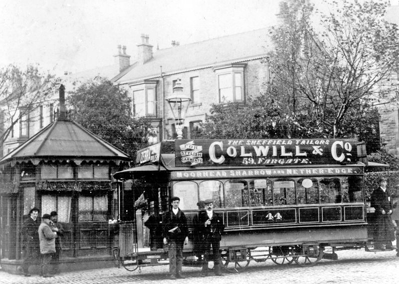 Horse Drawn Tram at Nether Edge Sheffield #sheffield