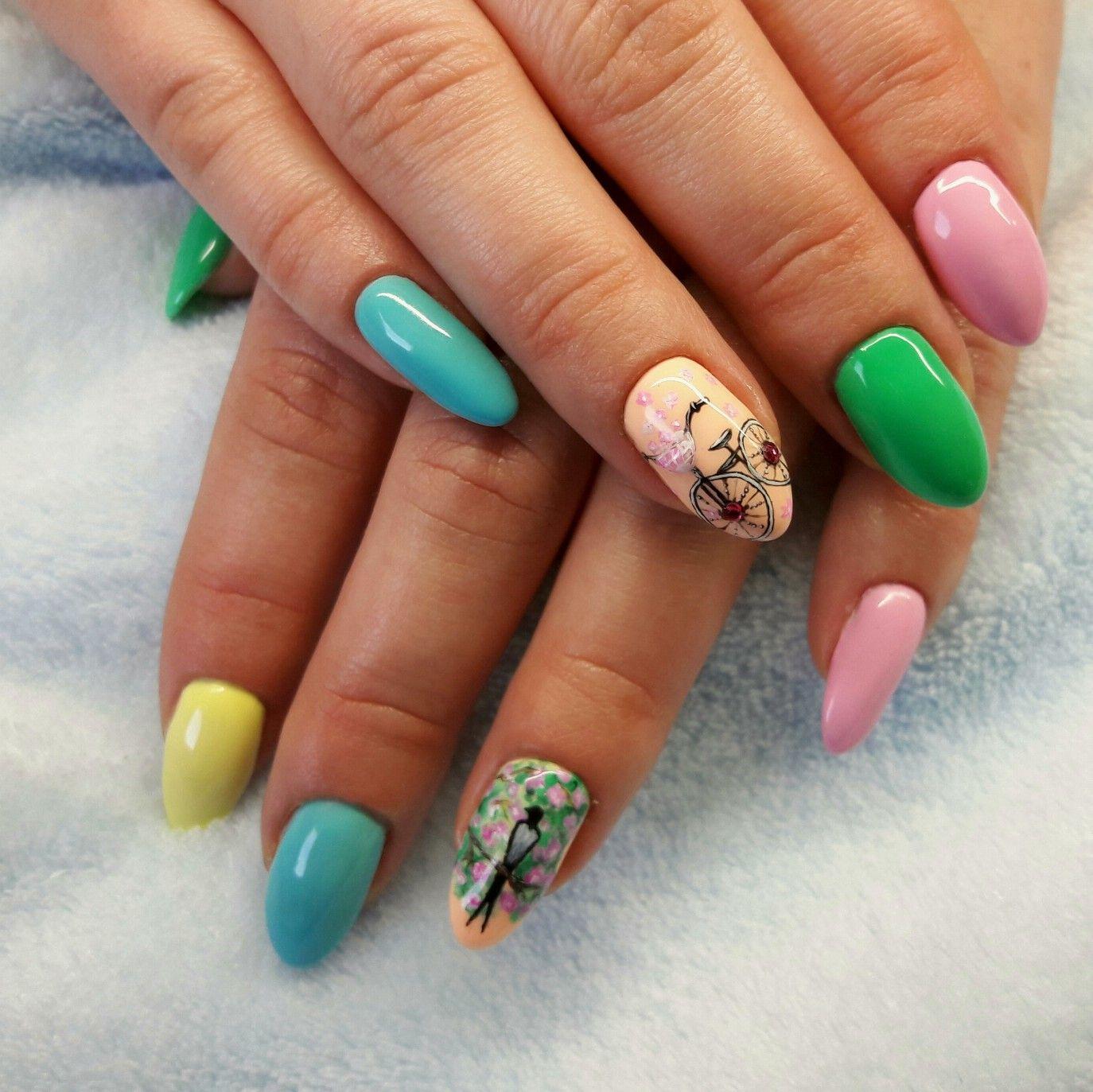 Pin by Vanessa Mendoza on Uñas lindas   Nails, Nail art