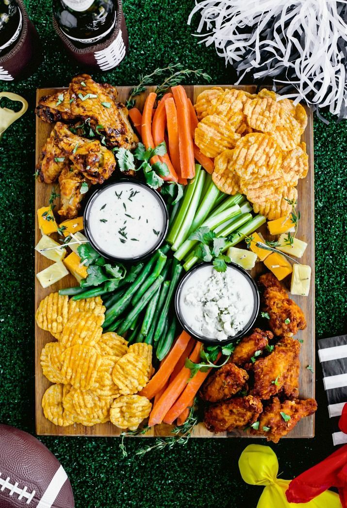 Football Party Snack Board - Celebrations at Home