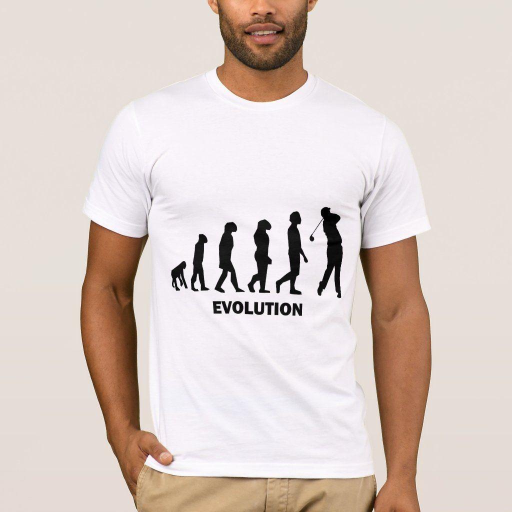 Funny hilarious golf T-shirt, Men's, Size: Adult L, White