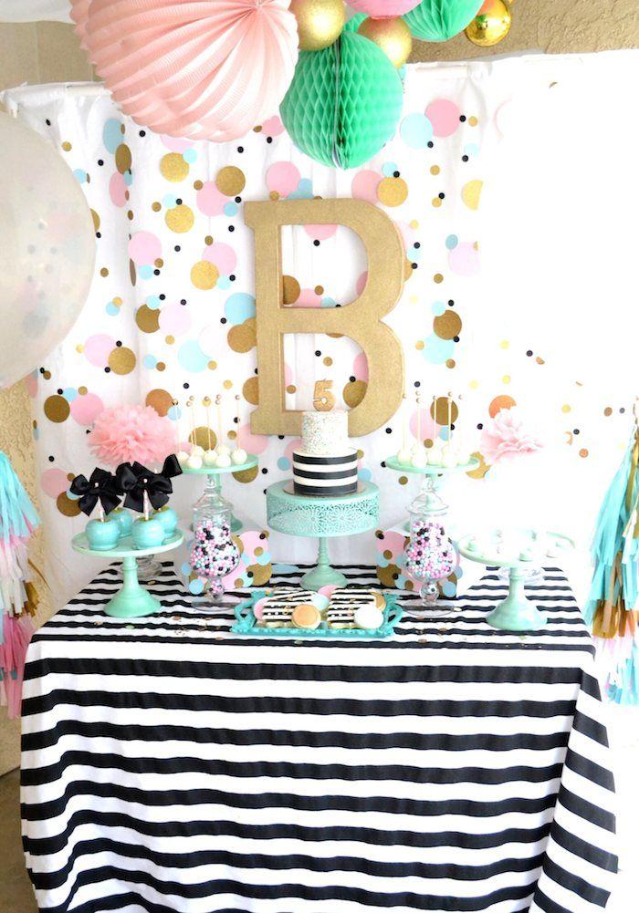 Cue The Confetti Themed Birthday Party Geburtstagspartythemen