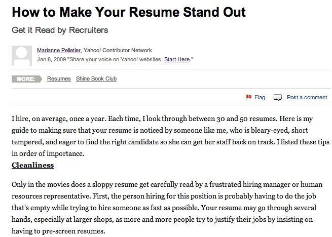1st resume madgrfx Pinterest - resume sample writing for fresh graduate pdf
