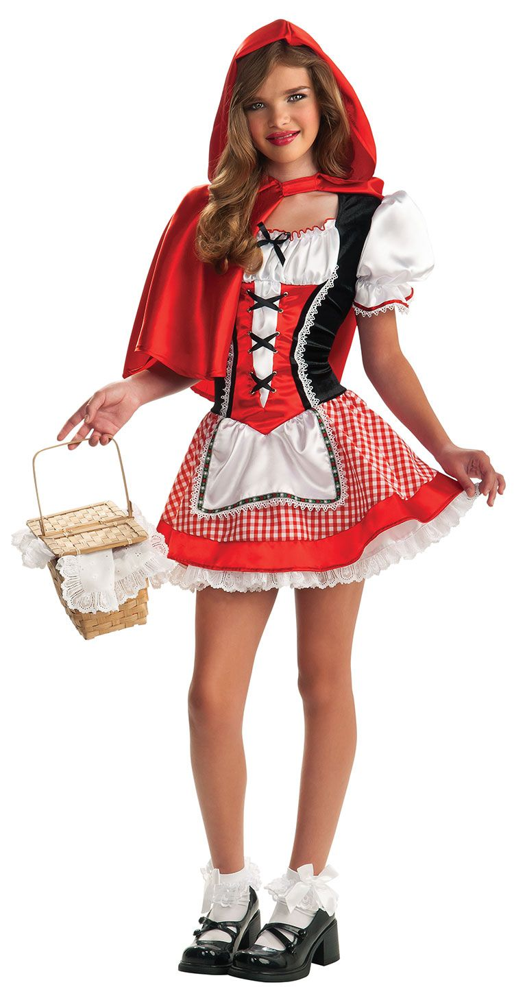Tween Costume With Images Little Red Riding Hood Halloween