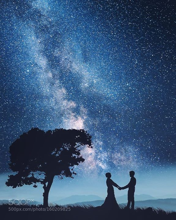 Yes You Can See The Milky Way The Night Is Young Sunset Photography People Photo