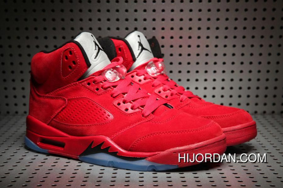 newest 0c75e a39be Air Jordan 5 University Red Men 2018 New New Release ...