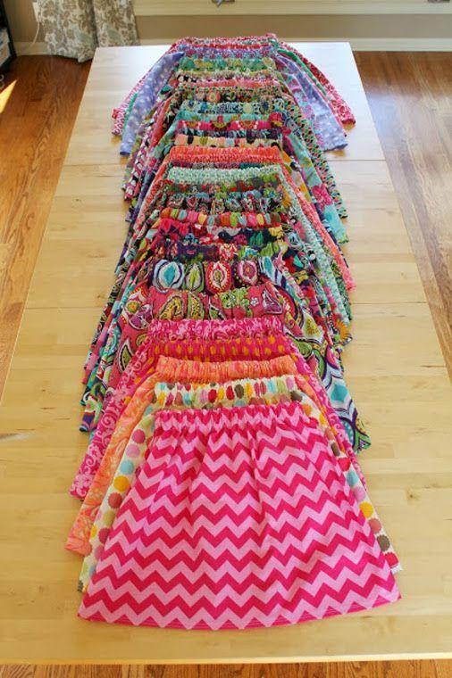 Couture Facile Diy : Summer Jupe Free Tuto