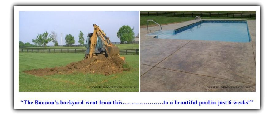 How to build your own inground vinyl liner swimming pool with little to no experience and save for Build your own swimming pool deck