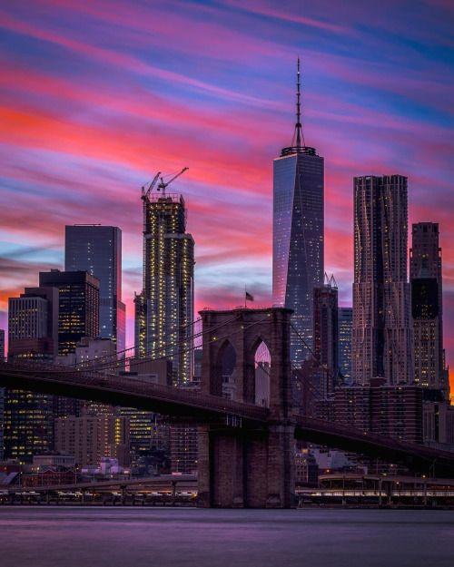 One World Trade Center at dusk by @grimace_586 #nyc #newyork #newyorkcity #manhattan #brooklyn #queens #eastvillage #westvillage #midtown #downtown #tribeca #soho #uppereastside #upperwestside