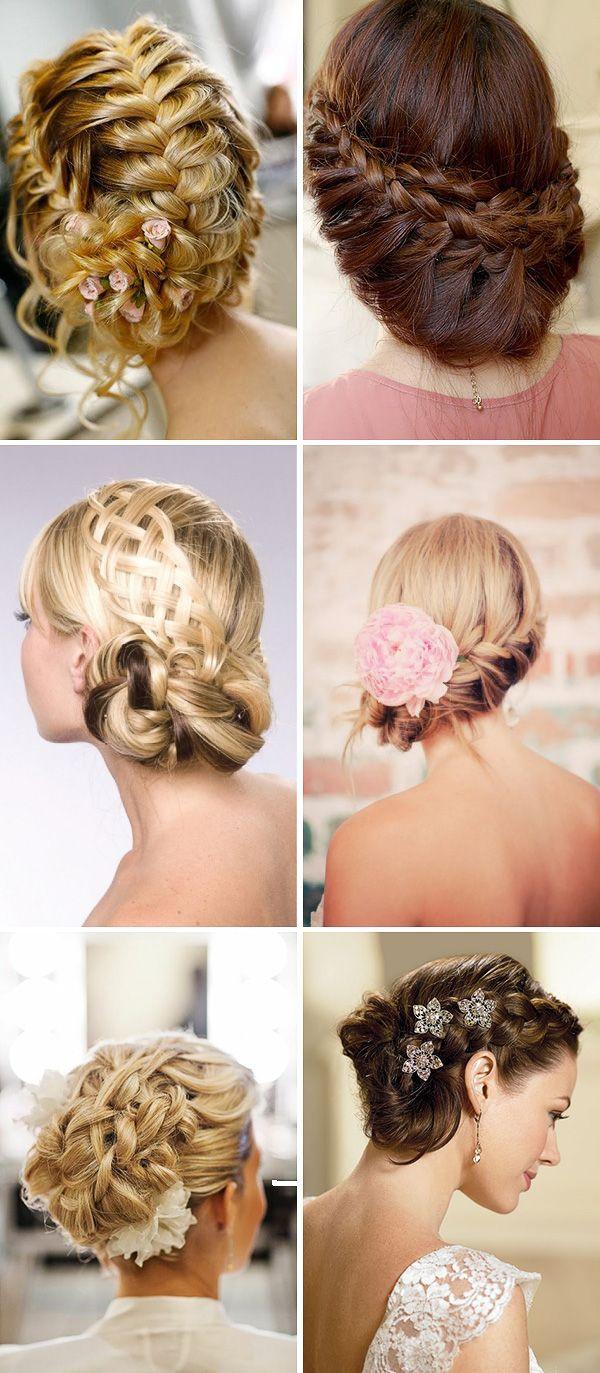 braided wedding hair second one down left | dream wedding