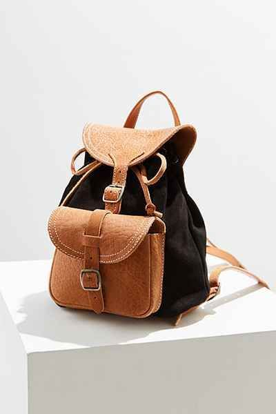 Use This Leather Mini Backpack From Bdg For Work Travel Or School Coin Bag