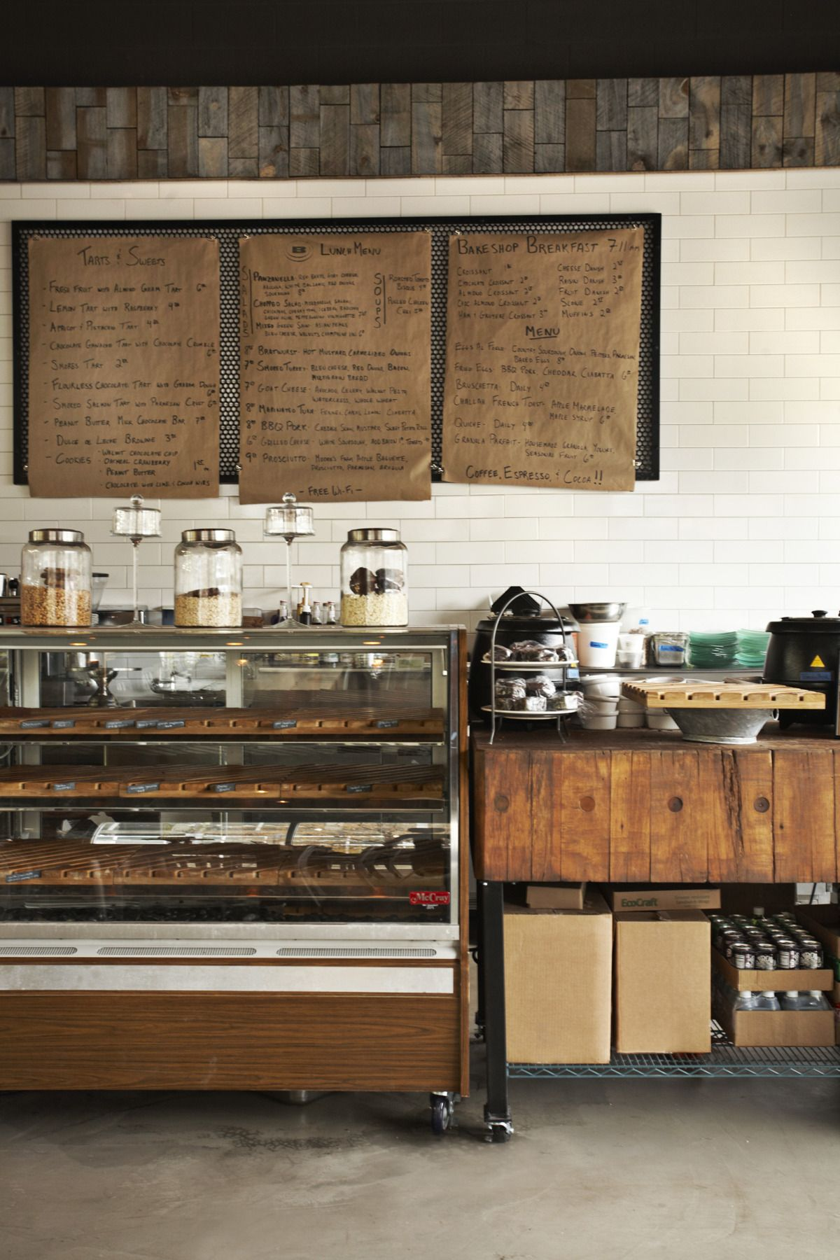 Integrating Older Pastry Case Into More Modern Decor A