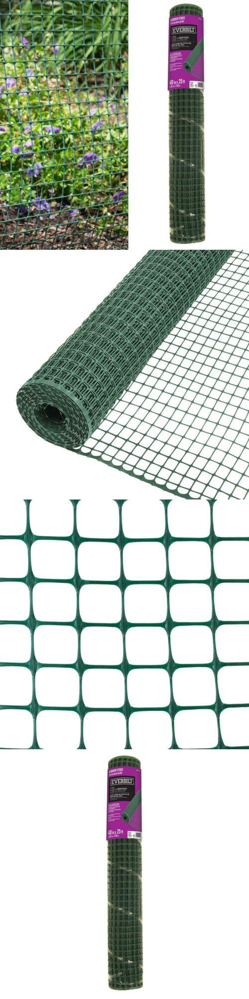 Hardware Cloth Metal Mesh 180985: Green Garden Wire Fence 40