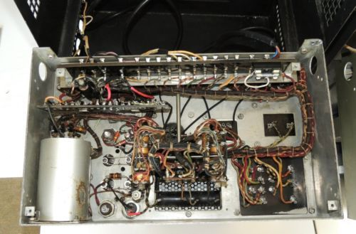 Swell Pair Early Silver Western Electric 1086A Tube Amplifiers From 1930S Wiring Database Numdin4X4Andersnl