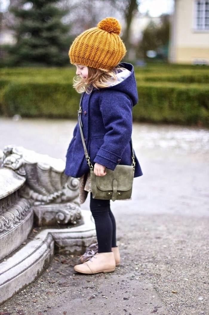 Winter Outfits für Mädchen - 15 stilvolle Ideen für Ihre Tochter | Babymode, Mode für