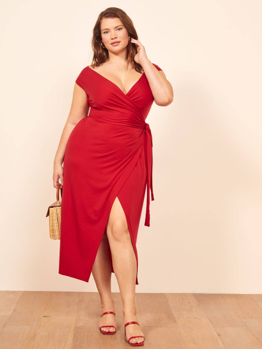 Can You Wear Red To A Wedding This Is The Definitive Answer In 2020 Sage Dress Dresses Dinner Outfit Spring