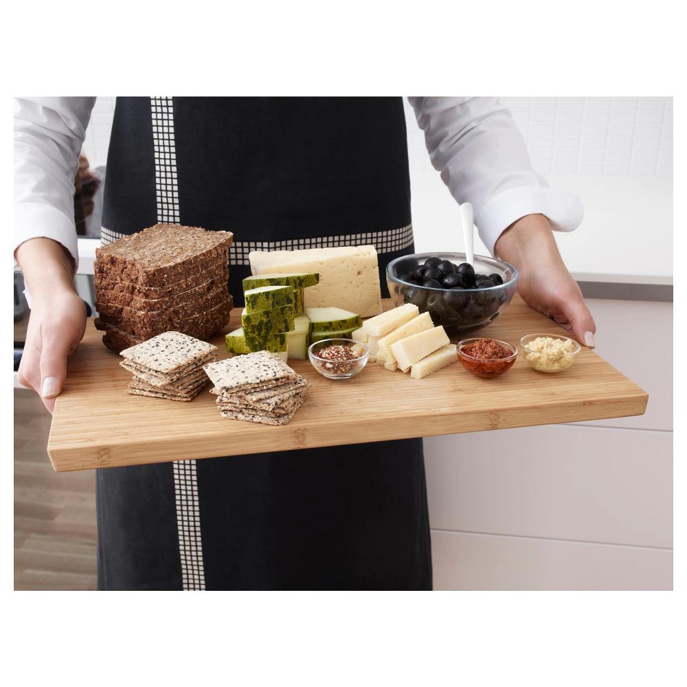 Aptitlig Chopping Board Bamboo Length 17 Ikea Bamboo Chopping Board Food Preparation Cooking Meat