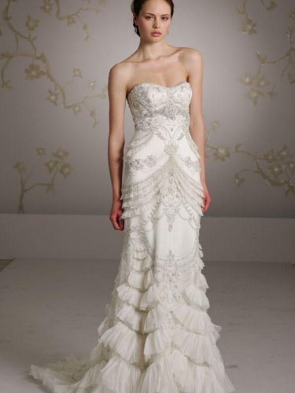 Lazaro Wedding Dresses Website Gorgeous Vintage 3059 Dress