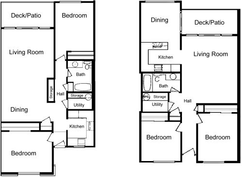 Charmant LaVilla+2+Bedroom+Plans 500×366 Pixels