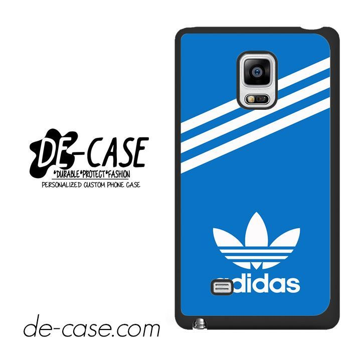 Blue Adidas Custom DEAL-1920 Samsung Phonecase Cover For Samsung Galaxy Note Edge