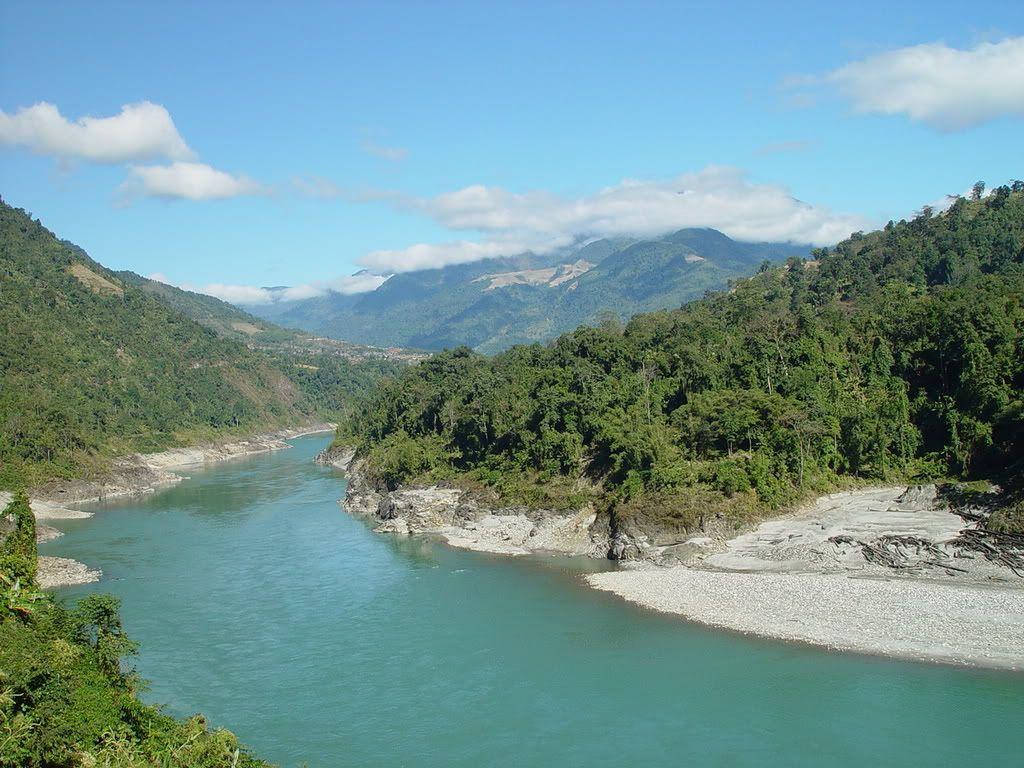 Siang River, Upper Siang District, Arunachal Pradesh