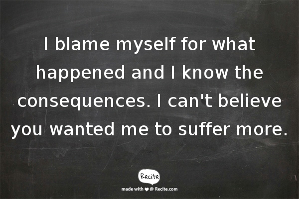 blame me if you want My motto is simple: if you do not succeed in life, i don't want you to blame your parents i don't want you to blame the white man i want you to blame yourselves.