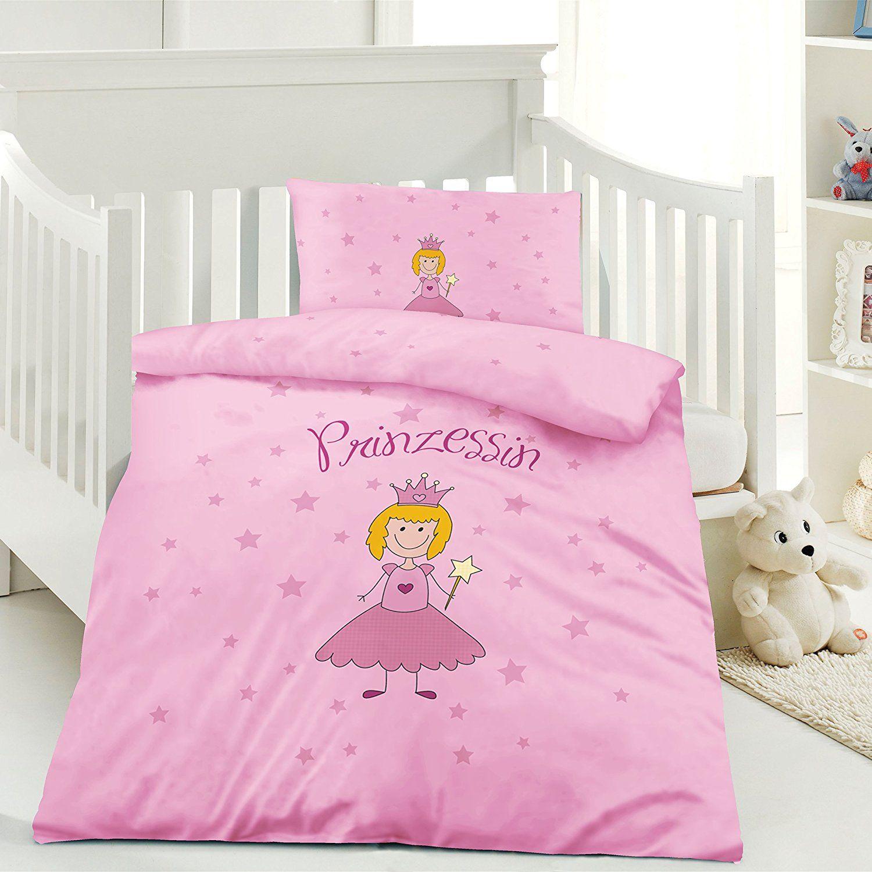 Werbung Rosa Prinzessin Kinder Bettwäsche 100 X 135 Cm Kissen 40