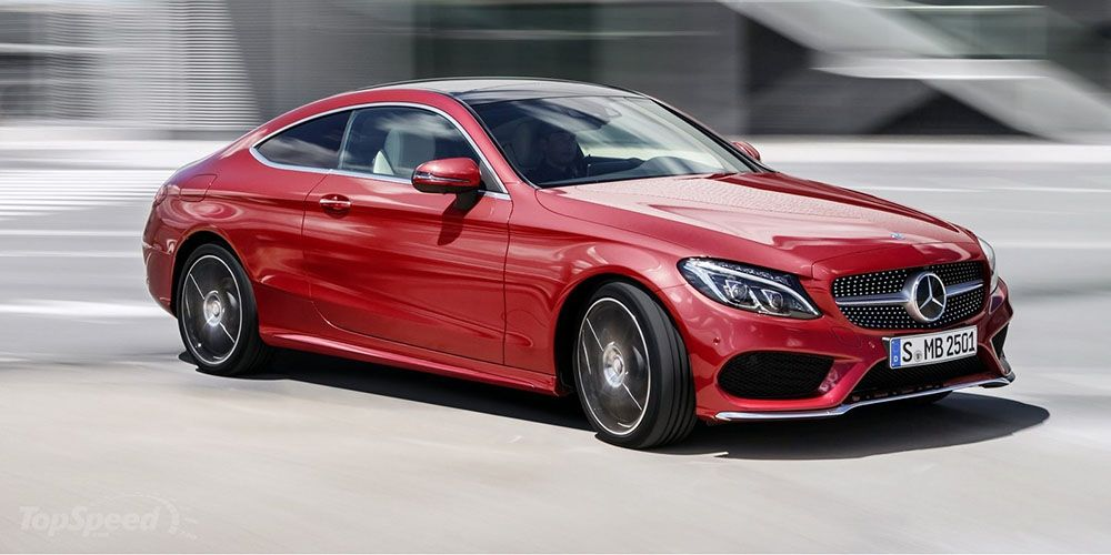 New 2017 Mercedes Benz C Class Coupe Is Fast And Good Looking Benz C