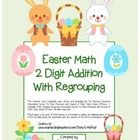 """Easter Math"" 2 Digit Addition With Regrouping - Common Core - Math Fun! (color version)  http://www.teacherspayteachers.com/Product/Easter-Math-2-Digit-Addition-With-Regrouping-Common-Core-Math-Fun-color-1135295"