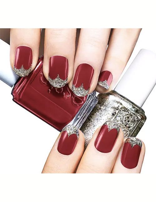 Nail Art Bridal Wedding 2016 Latest Nails Essie Red