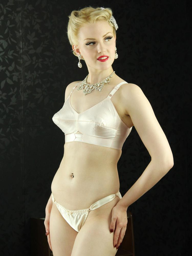 db0fcd3df3 Retro 1950s satin panties for pin up girls. Shop online.