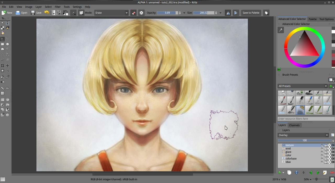 Getting started with Krita (2/3) - David Revoy