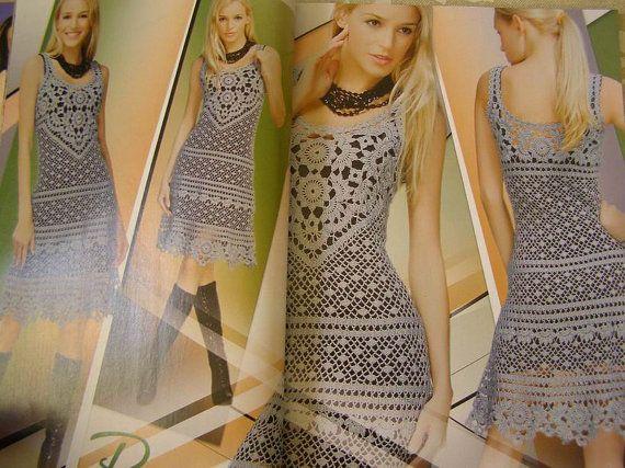 Bildergebnis für zeitschriften häkeln kleider | Kleider häkeln ...