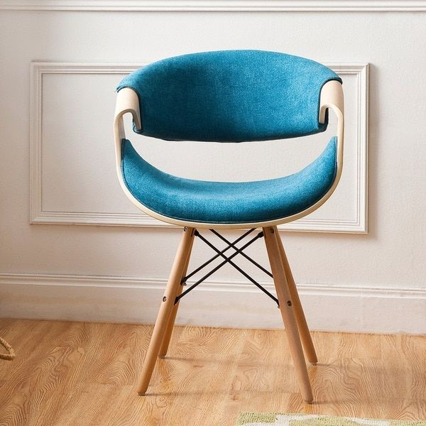 Incredible Corvus Adams Contemporary Teal Blue Velvet Accent Chair Gamerscity Chair Design For Home Gamerscityorg