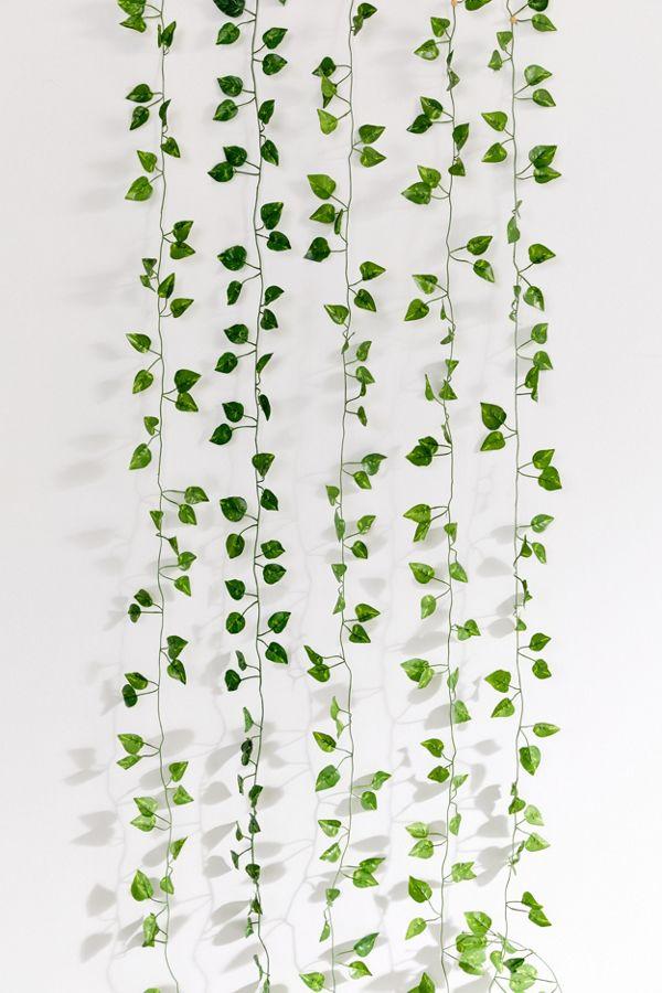 Faux Hanging Vine Garland Hanging Vines Hanging Plants Fake Plants Decor