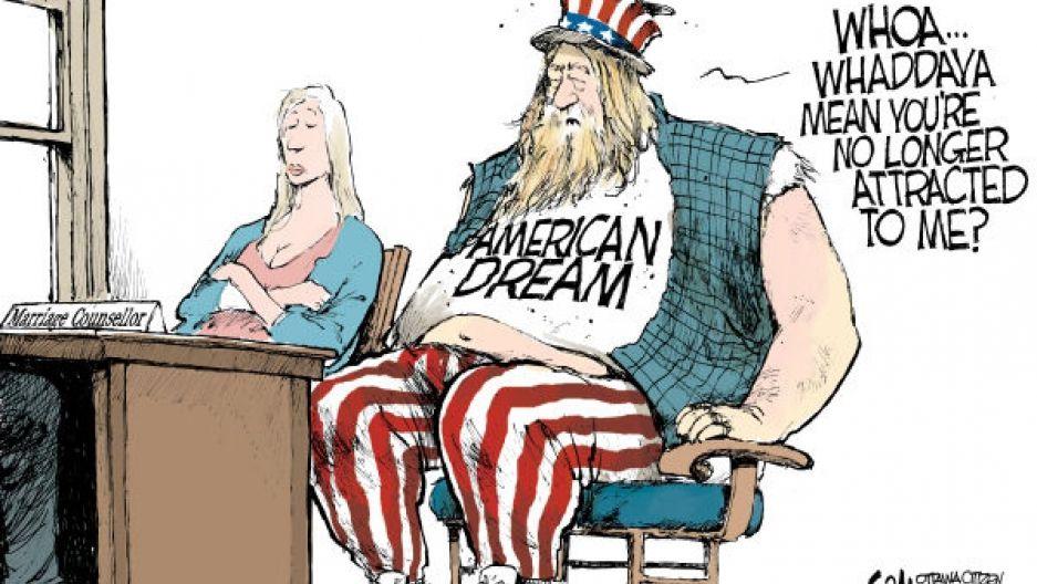 The American Dream American Dream Cartoon Live American