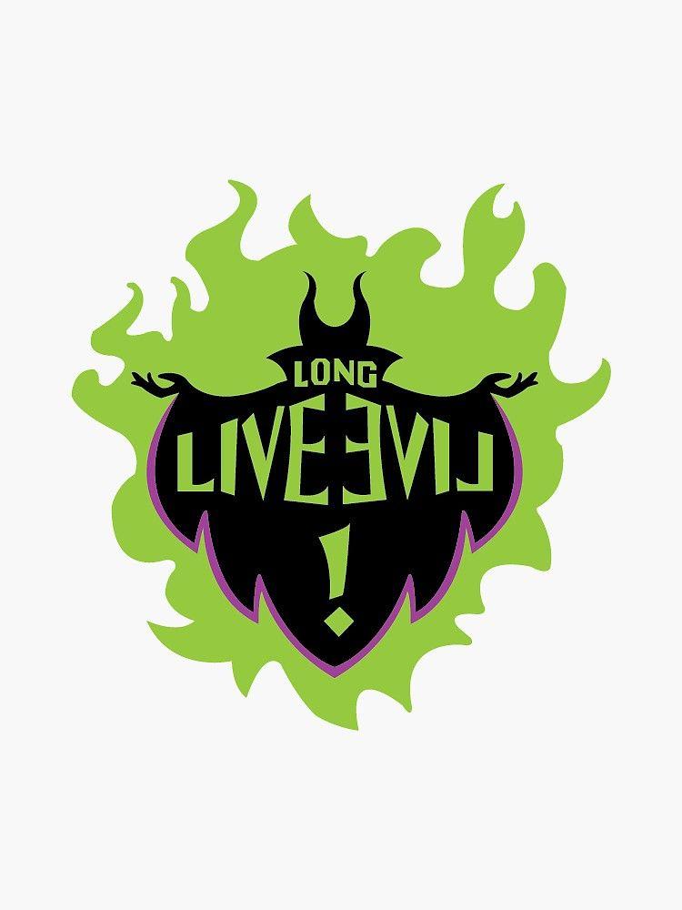 Long Live Evil Sticker By Astrid Of Berk In 2021 Disney Sticker Evil Disney Autograph Book Disney