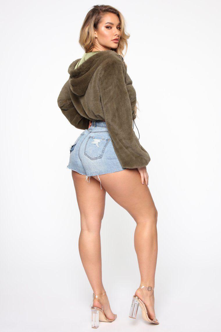 Go Fur It Jacket Olive Fashion, Fashion nova models