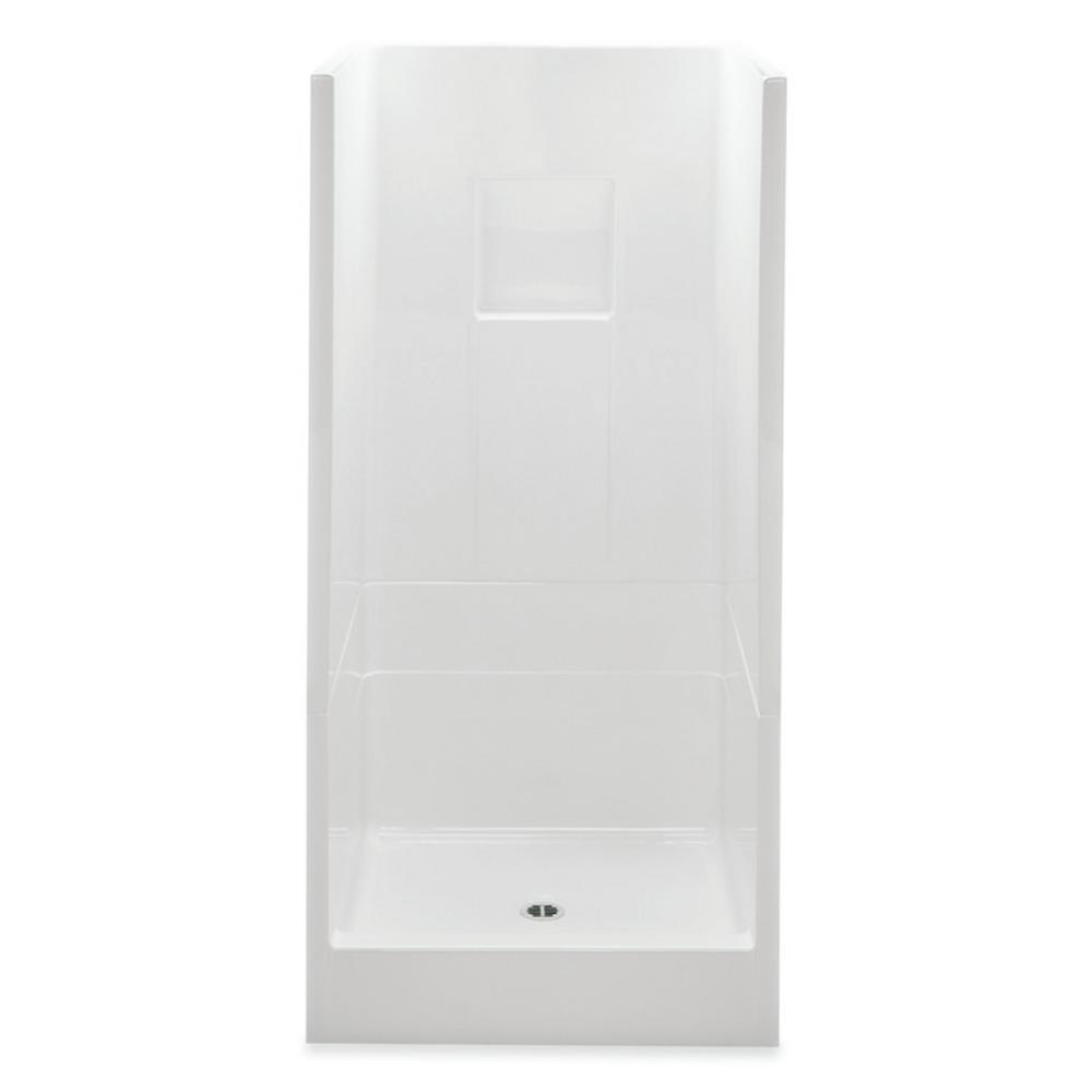 Aquatic Remodeline 32 In X 32 In X 72 8 In 2 Piece Shower Stall