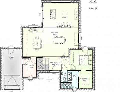 Plan achat maison neuve à construire - Maisons Bernard Jambert Avant - faire un plan de maison gratuit