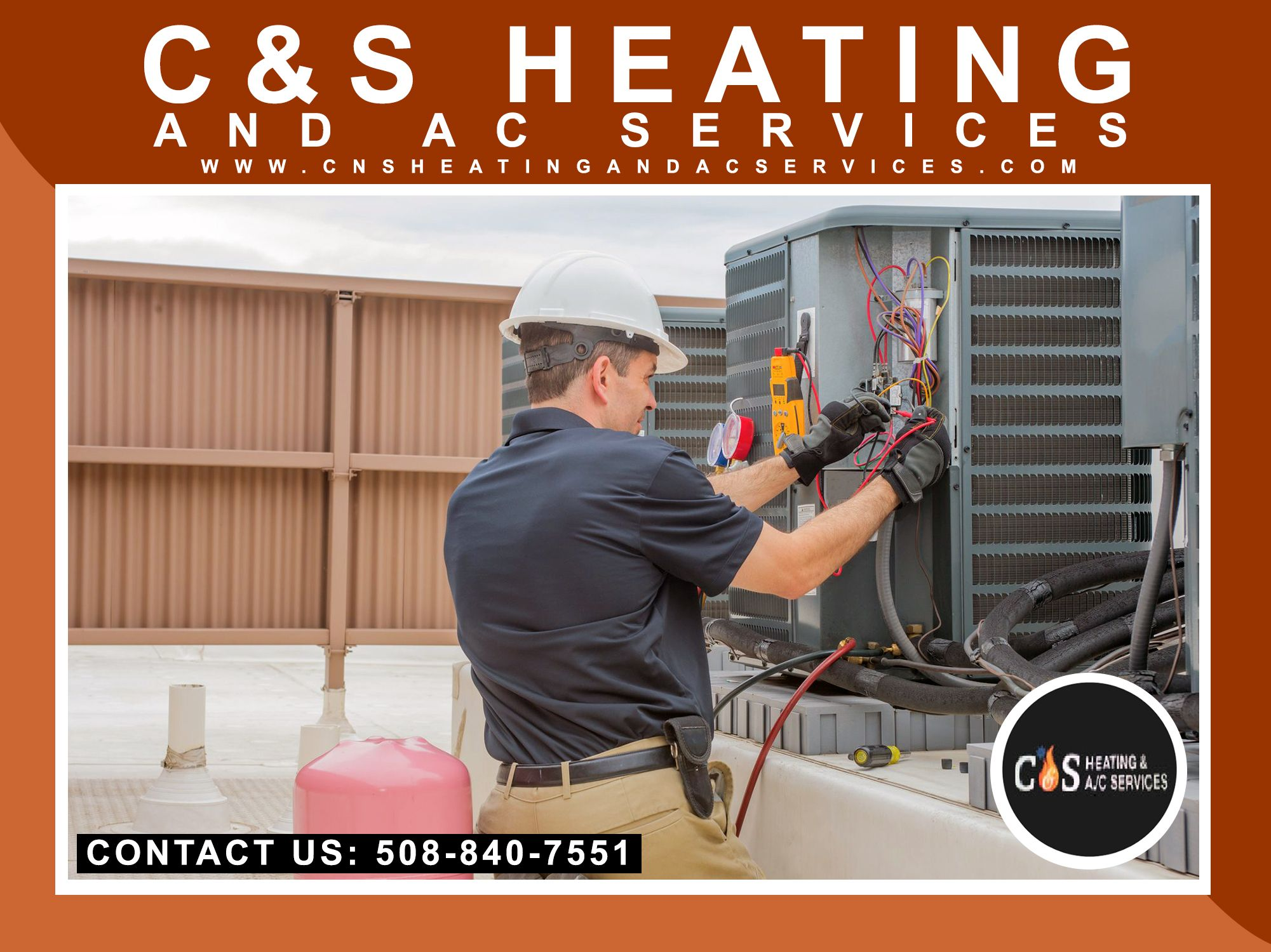 We are a fullservice HVAC contractor offering