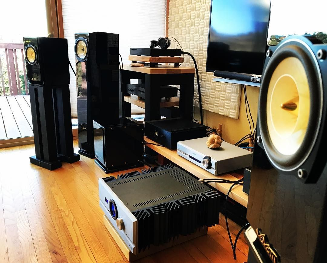 Voxativ Hagen Speaker with Pass Labs INT-60, Sound Anchors