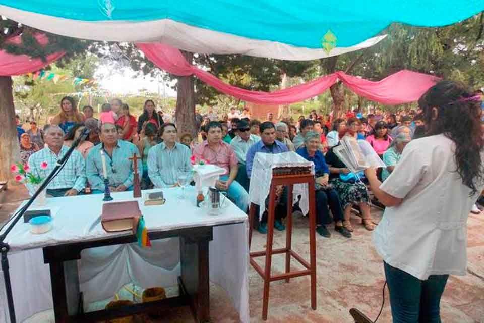 Gran fiesta patronal en Villa Luján