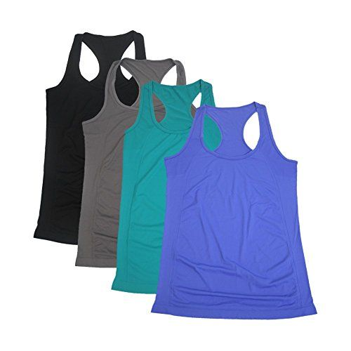 Semath Women's Fitness Workout Vest Tanks Cami Soft Racer...…