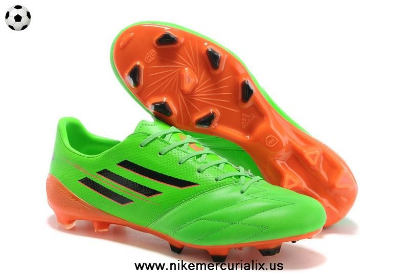 quality design 5cdf9 4c066 ... uk buy trx fg leather green black orange adidas f50 adizero 66898 09824