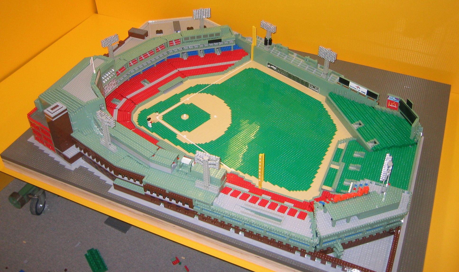 lego baseball field instructions